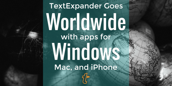 TextExpander for Windows 1.0