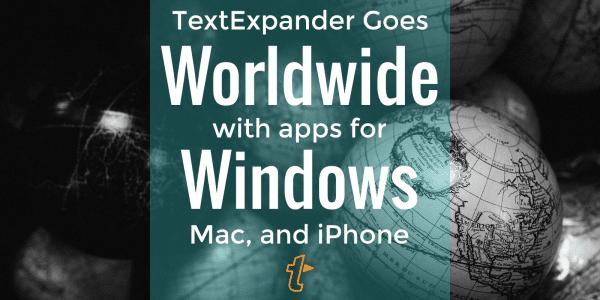 TextExpander for Windows 1.0