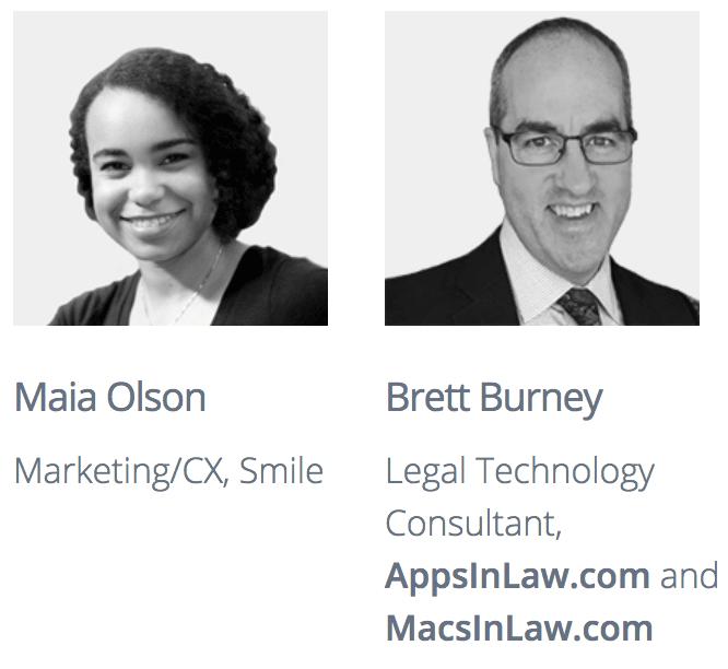 Maia Olson and Brett Burney