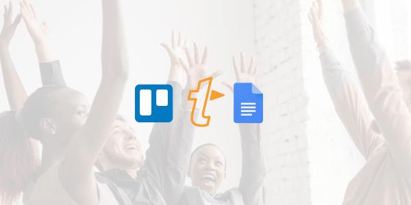 Trello, TextExpander and Google Doc logo
