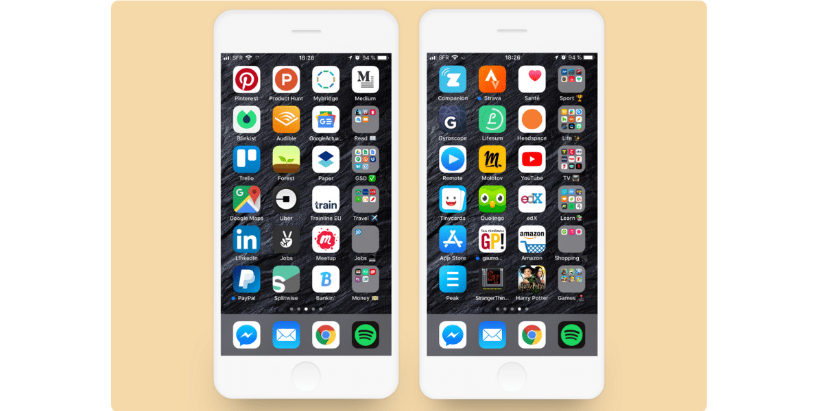 Organize Apps By Category