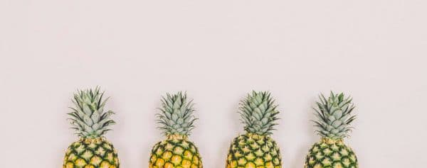 4 Types of Customer Service Represented by Pineapples