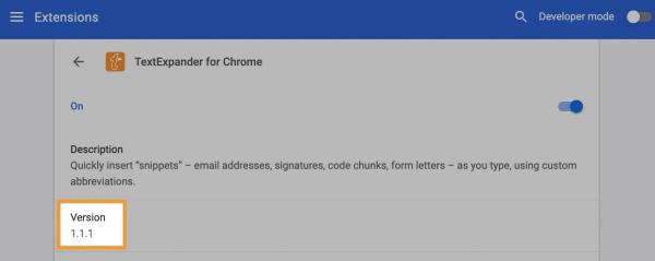 About TextExpander Chrome Extension