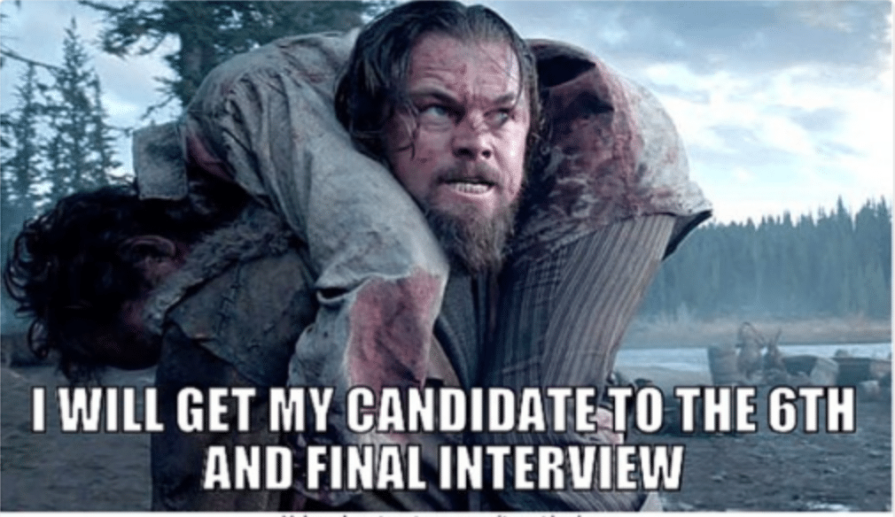 hiring process recruitment meme