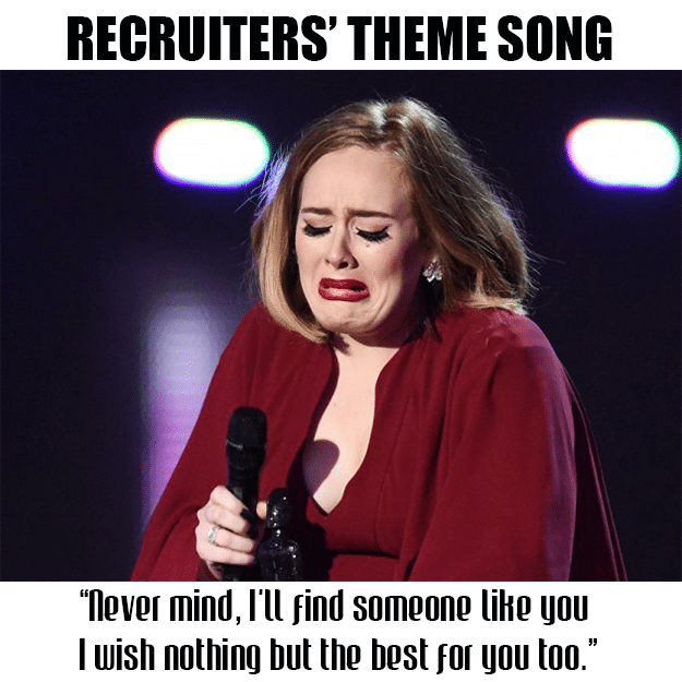 recruiter fail recruitment meme