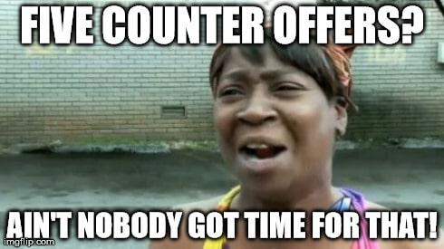 counteroffer recruitment meme