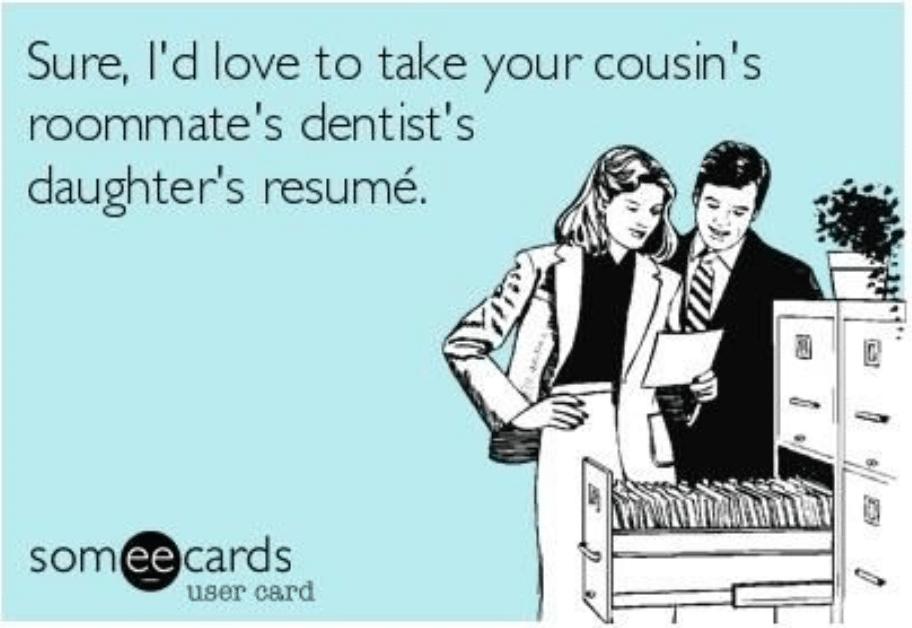 referral recruitment meme