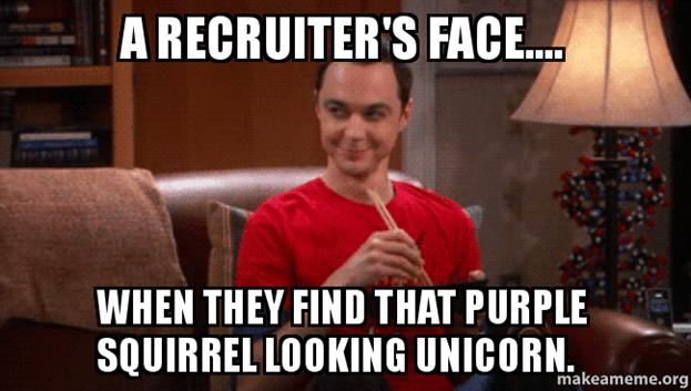 recruiter recruitment meme