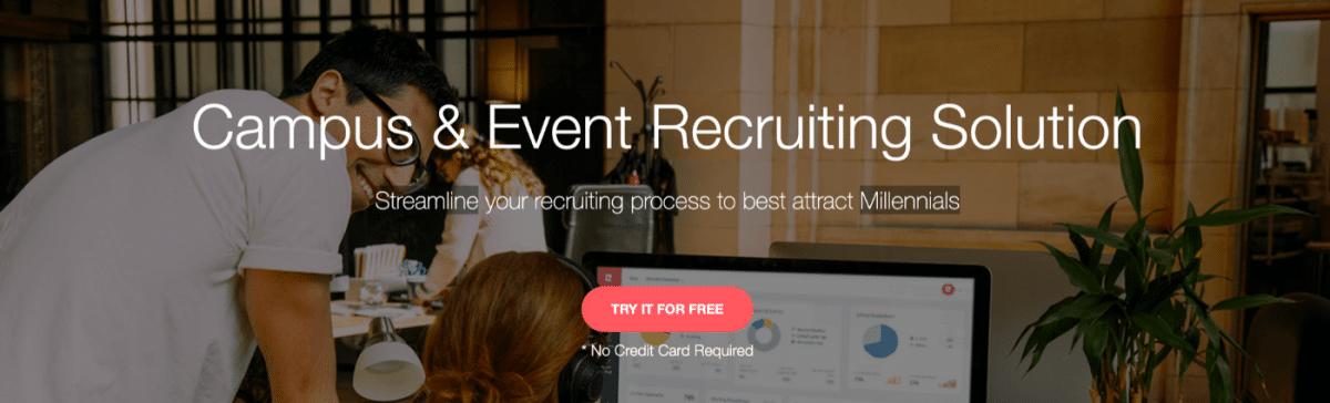 Screenshot of Rakuna RecruitApp, recruitment app #5 on our list.