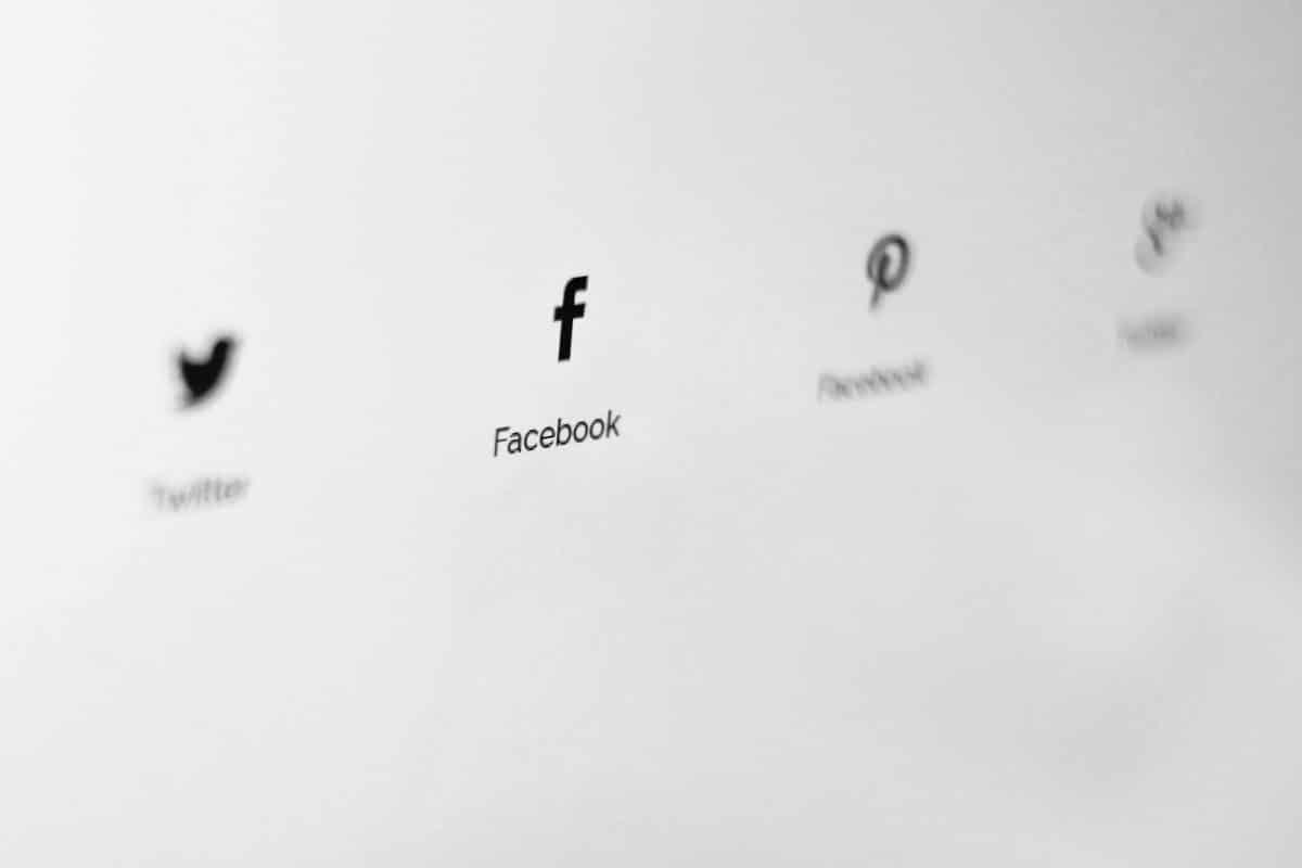 Social media icons representing recruitment idea 5.