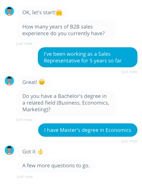 Bots are an exciting innovation in recruitment technology.
