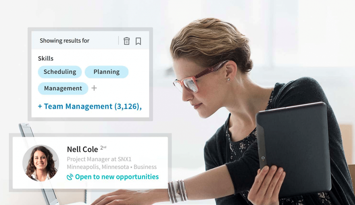 LinkedIn Recruiter Technology homepage