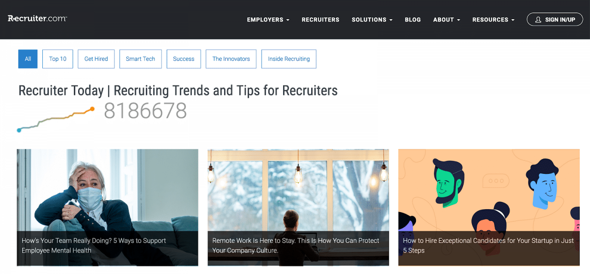 The best recruitment content on the internet