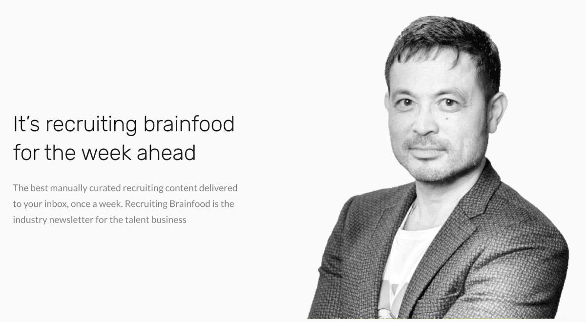 John Vlastelica from Recruiting Brainfood