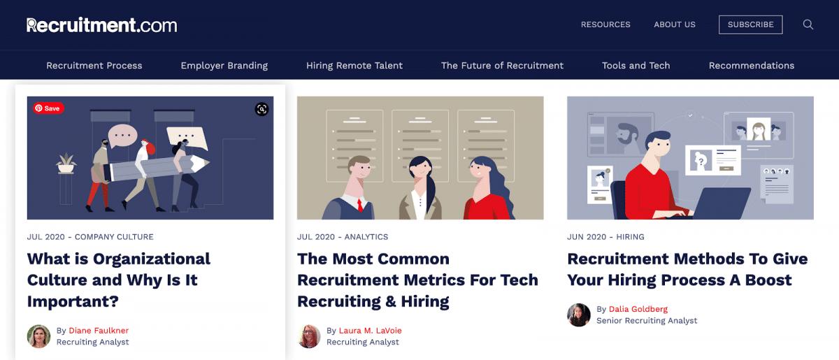Recruitment.com website