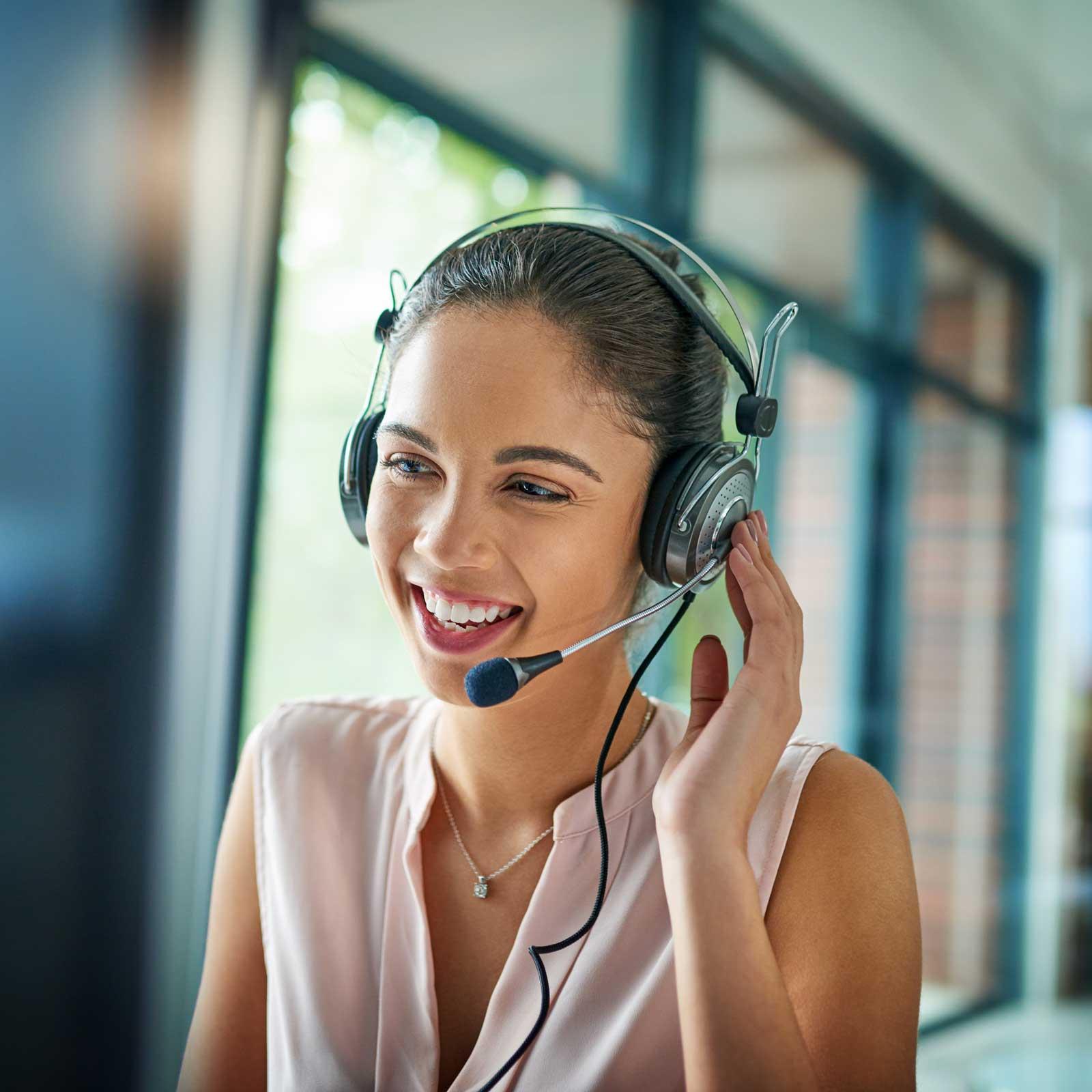 productive customer support representative